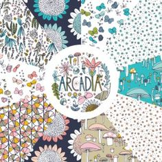 Arcadia Fat Quarter Bundle