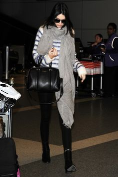 November 15th: Kendall Jenner arriving at LAX airport