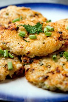 Crispy rice has a revered place in many cultures These rice cakes, which work well as a side dish to a piece of grilled meat or fish, offer the delicious crunch of Korean nurunji or Middle eastern hkaka, with some of the herbed cheesy goodness of Italian arancini The basic recipe can be used to accommodate vegetables other than zucchini and herbs other than mint, or can be made without either for a more simple backdrop for a fried egg or a simple snack for a child.