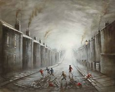 Jumpers for Goalposts by Bob Barker. Norman Cornish, Urban Life, Great Photos, Vintage Art, Contemporary Art, Abstract Art, Street View, Fine Art, Jumpers