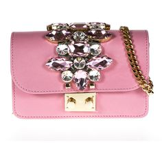 Gedebe Bags ($490) ❤ liked on Polyvore featuring bags, handbags, pink, pink handbags, pink purse and pink bag