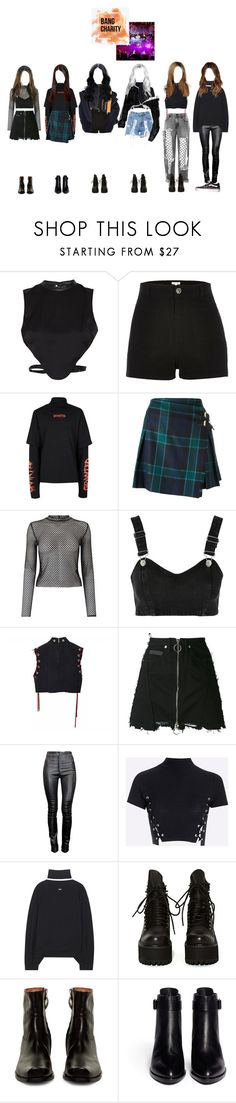 """""""┇ SPECIAL ┇ BANG CHARITY PERFORMANCE"""" by dreamcatcher-official ❤ liked on Polyvore featuring Morgan, River Island, Topman, Burberry, Miss Selfridge, Topshop, County Of Milan, Thierry Mugler, Off-White and UNIF"""