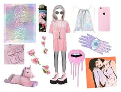 Velvet is a dream pink by tb-mcr on Polyvore featuring moda, Topshop, Bohemian Society, Demonia, The Row and GET LOST