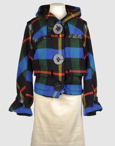 JC Castelbajac Hooded Coat Front