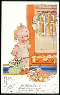 MABEL LUCIE ATTWELL postcard, via eBay