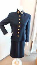 Immaculate vintage 80's military Mondi jacket and pencil skirt suit size 12
