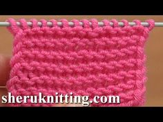 ▶ CONTINENTAL: How to Knit the Purl Stitch YouTube