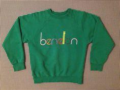 1980's/'90's United Colors of Benetton sweatshirt by brinkdwellers