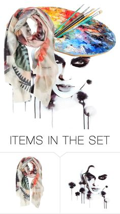 """""""Colors"""" by chateaubeau ❤ liked on Polyvore featuring art"""