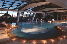 Thalassotherapy Pool Porto Carras Halkidiki Greecd It s worth it! Elemis Spa, Halkidiki Greece, Spa Therapy, Innovative Architecture, Spa Center, Walter Gropius, Famous Architects, Hotel Spa, Facade