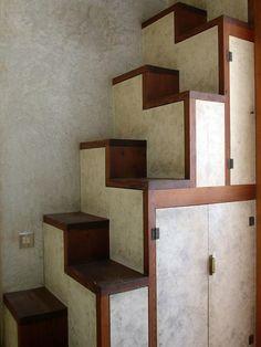 Storage Stairs - Carlo Scarpa