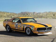 RM Auctions Sotheby's à Monterey Ford Mustang Boss 302 Kar Kraft