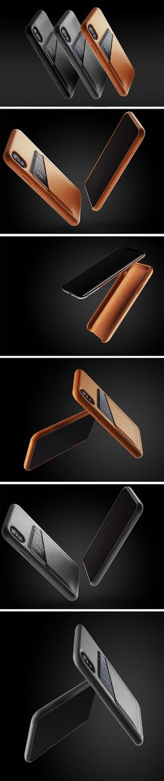The iPhone X cases by Mujjo are made entirely of the finest vegetable tanned leather from top to bottom, including the buttons. Aside from being able to ensconce your phone in premium leather, Mujjo's cases come with a slot that let you stash your cards in it, making the priceless iPhone a little bit more priceless, that's if priceless-ness is quantifiable! BUY NOW!