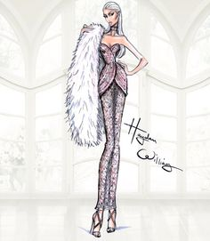 Hayden Williams Haute Couture SS15: Look 3