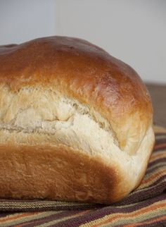 This tender buttermilk bread recipe will be your new go-to yeast bread.  It rises beautifully thanks to the bread flour and the honey adds a slight southern sweetness.