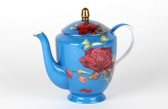 love this! from T2 Ruby rose teapot collection comes in red too!