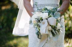 Stunning winter white bouquet.