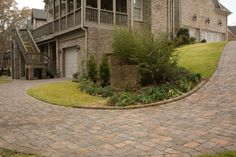 Paver Stone Driveway Photo Gallery - Parking Lot Photo Ideas | Pavestone Atlanta