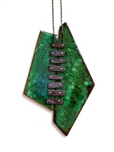 GALIT BARAK | Double Pendant from her Fragment Collection (no longer on her website).