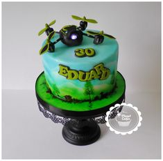 Drone Cake - Cake by Planet Cakes