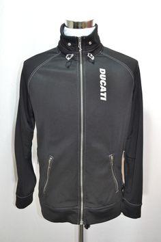 4d8c9b5a3ea4 PUMA DUCATI Men s Track Jacket Motorcycle Performance Size L Large Black  NICE