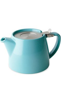 FORLIFE Stump 18-Ounce Teapot with SLS Lid and Infuser, Turquoise Best Price