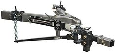 Husky 31621 Lightweight Pin Trunnion Bar Weight Distribution Hitch with Sway Control and Ball, As Shown