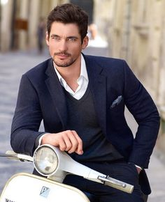 "Professor on his first ""date"" with Julianne. David Gandy"