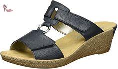 Rieker 62468, Mules Femme, Bleu (Royal / 14), 37 EU - Chaussures rieker (*Partner-Link)