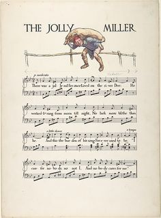 "Paul Vincent Woodroffe | ""The Jolly Miller""―Page Design 