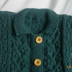 Rowan Bobble Jacket for baby or toddler PDF knitting pattern