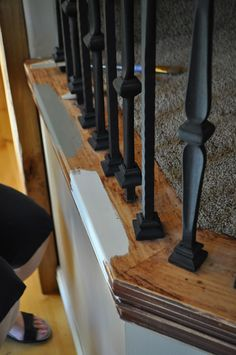 Best Banister Painted With Annie Sloan Chalk Paint Home 400 x 300