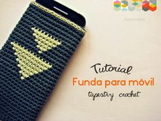 hamoraima ▼ tutorial funda de crochet para móvil