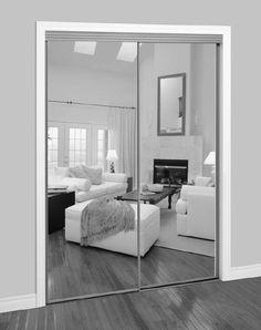 Sliding mirror door for closet and walk-in wardrobe - 2002 SERIES ...