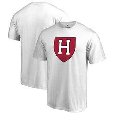 Harvard Crimson Big & Tall Primary Logo T-Shirt - White