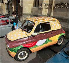 Fiat (Burger) 500 in Bristol | At the Italian Car and Bike S ...