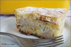 Torta Preguiçosa de Banana - Delícias 1001Delícias 1001