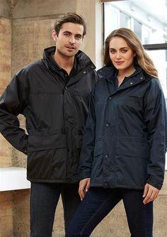 Unisex Trekka Jacket. Lining: Anti-pill Micro Fleece. High wind collar with hidden seamsealed hood.  #winterclothes #mensjackets #menscasualjackets