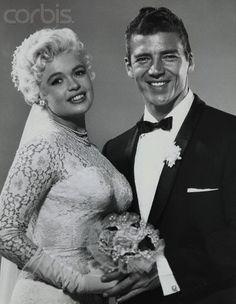 Celebrity wedding of Jayne Mansfield and Mickey Hargitay January 13, 1958