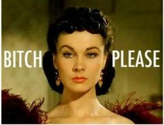 Vivian Leigh perfected this look!