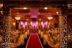 Nashville Tennessee Gold Indian Wedding Reception - 2   Indian Wedding Site