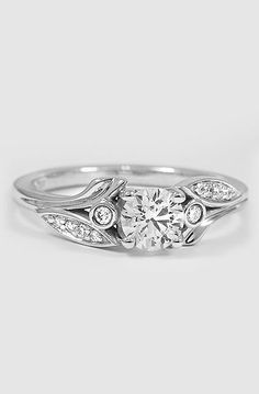 Platinum Jasmine Diamond Ring I love this!!!