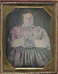 plus size lady, civil war. Proof that people were large in the past and that it isn't just a phenomenon of current lifestyle.