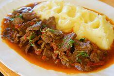 Romanian Food, Pot Roast, Beef Recipes, Cooking, Ethnic Recipes, Desserts, Casseroles, Kitchen, Recipes