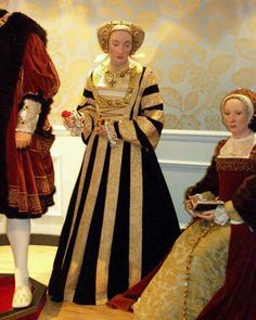 Anne of wife of King Henry the was born in 1515 to John lll Duke of Cleves & Maria. She died in 1557 at the age of Anne Of Cleves, Anne Boleyn, Renaissance Era, Renaissance Costume, King Henry, Henry Viii, Wax Museum, Queen Of England, Tudor History