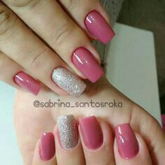 Having short nails is extremely practical. The problem is so many nail art and manicure designs that you'll find online Spring Nail Colors, Spring Nails, Shellac Nails, Toe Nails, Stylish Nails, Trendy Nails, Fabulous Nails, Gorgeous Nails, Nail Art Designs