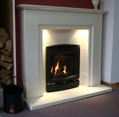 Zigis Fireplaces - Premier Retailer of Gas & Electric Fires in Essex Colchester, Home, Log Effect Gas Fires, Gas Fires, Downlights, Efficiency, Fireplace, Wood Burning Stove, Home Decor
