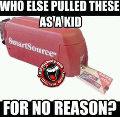 We used to run through the store & see who could collect the most! Lol
