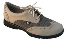 Sandbaggers Ladies Golf Shoes - CHARLIE Heathered Tweed Gray