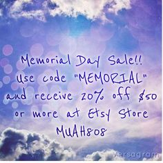 memorial day sale ebay